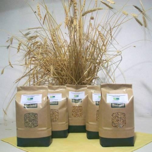 BIOLAND Probierpaket URKORN-Spezial 5 x 1kg